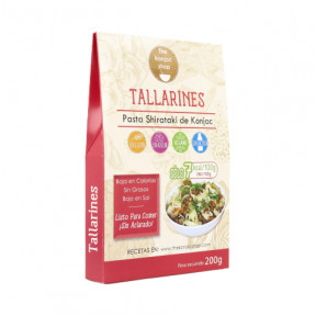 Tallarines de Konjac (Fettucine) The Konjac Shop 200g