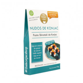 Noeuds konjac (Noodles) The Konjac Shop 200g