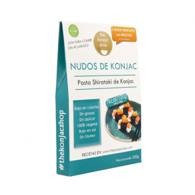 Noeuds konjac (Noodles) TKS 200g