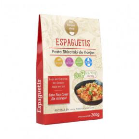 Espaguete Konjac The Konjac Shop 200g