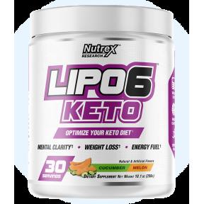 Lipo 6 Keto Cucumber-Melon pour perdre du poids Nutrex Research 288g