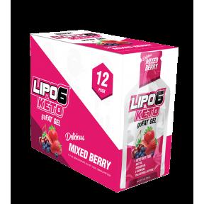 Lipo 6 Keto goFat gel aux baies pour la perte de poids Nutrex Research 12x30ml