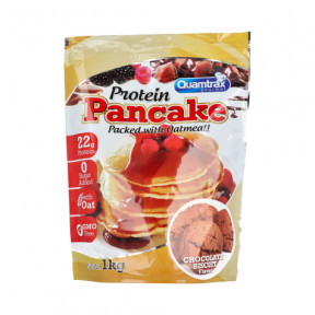 Protein Pancakes choco biscuit flavor Quamtrax 1kg