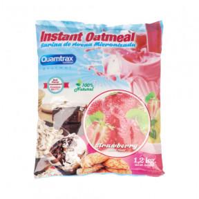 Flocons d'avoine aromatisés au fraise Quamtrax 1,2 kg