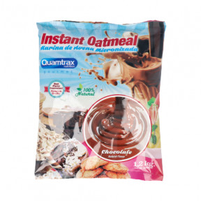 Harina de Avena sabor chocolate Quamtrax 1,2Kg