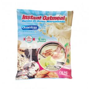 Quamtrax vanilla-cinnamon Flavored Oatmeal 1.2Kg