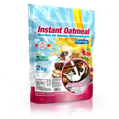 Quamtrax Capuccino Flavored Oatmeal 2Kg