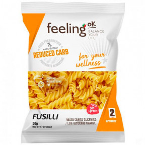 FeelingOk Optimize Fusilli Pasta 50g