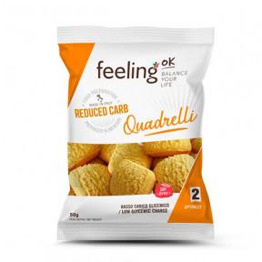 Mini Biscuits FeelingOk Quadrelli Optimize Orange 50 g