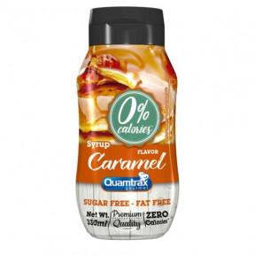 Sirope de Caramelo 0% calorías Quamtrax Gourmet 330ml