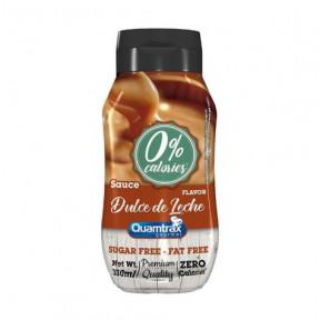 Quamtrax Gourmet Dulce de Leche Syrup 0% calories 330ml