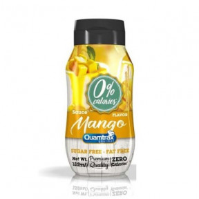 Sauce Mangue 0% calories Quamtrax Gourmet 330ml