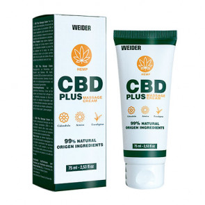 CBD Plus Weider Massage Cream 75ml