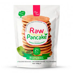 Preparado para Panquecas Low-Carb Raw Pancake Sabor Neutro Clean Foods 425 g