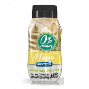 Quamtrax Gourmet Mayo Sauce 0% calories 330ml