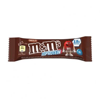 Barrita Mars M&M's Hi Protein Chocolate 51g