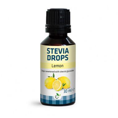 Edulcorante Stevia Drops de Sukrin Sabor Limón 30ml