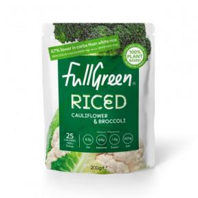 Cauli Rice Riz au chou-fleur au brocoli FullGreen 200g