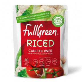 FullGreen Cauli Rice Cauliflower Rice with tomato, garlic and herbs 200g