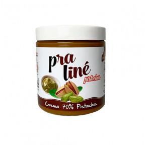 Crème Praliné Protéinée 70% Pistaches Protella 200g