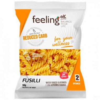 Pasta proteica low-carb FeelingOk Fusilli Optimize 50g de regalo