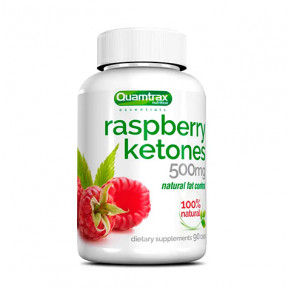 Raspberry Ketones Quamtrax Essentials 90 caps 500mg