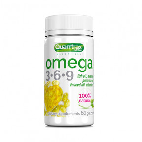 Omega 3-6-9 Quamtrax Essentials 60 gel caps