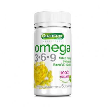 Omega 3-6-9 Quamtrax Essentials 60 gel caps
