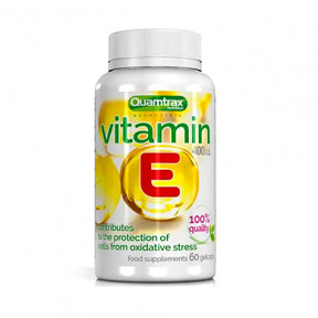 Vitamina E Quamtrax Essentials 60 cápsulas de gel