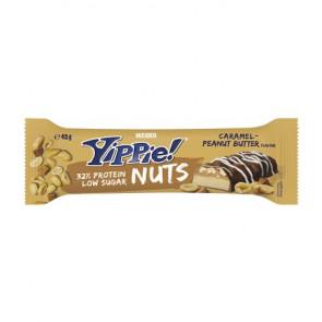 Weider Yippie! Nuts bar Caramel - Peanut Butter flavor 45g