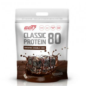 Classic Protein 80 Brownie Double Chocolate Flavour Got7 2Kg