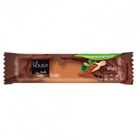 Barrita Low-Carb de Chocolate con leche LaNouba 35 g