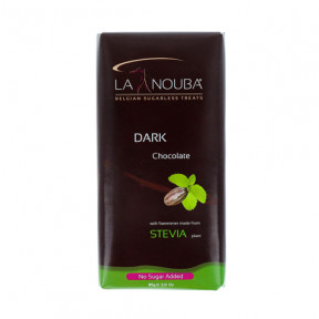 Low-Carb Dark Chocolate Tablet with Stevia LaNouba 85g