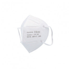 FFP2 mask standard EN149: 2001 CE marked respiratory filtering