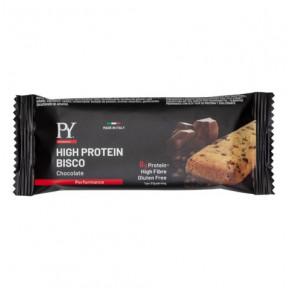 Biscoito proteico de chocolate High Protein Bisco Pasta Young 37g