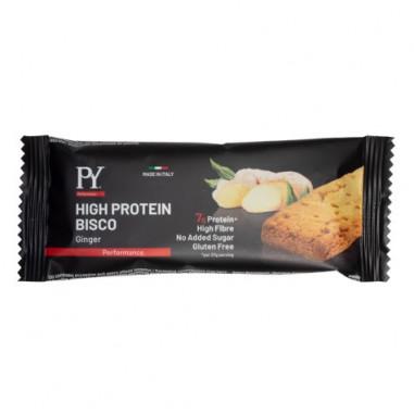 Galleta proteica High Protein Bisco sabor Jengibre Pasta Young 37g