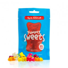 Oursons gommeux sans sucre Yummy Sweets 50g