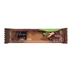 Chocolat au lait à faible teneur en glucides LaNouba 35 g