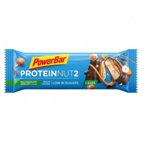 PowerBar Protein Nut2 milk chocolate hazelnuts 45g