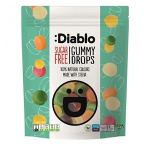 Sugar Free Gummies :Diablo Gummy Drops 75g