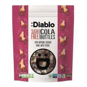 Bonbons gélifiés sans sucre :Diablo Bouteilles de cola 75g