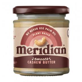 Mantequilla de Anacardo suave Meridian 170g