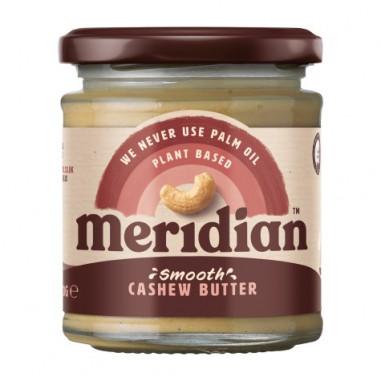 Beurre de cajou crémeux Meridian 170g