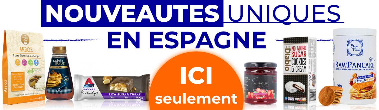 Découvrez les nouveautés uniques en Espagne des produits sains en cliquant ici