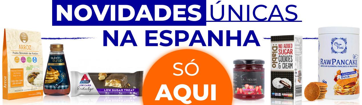 Descubra as novidades únicas em Espanha de produtos saudáveis clicando aqui