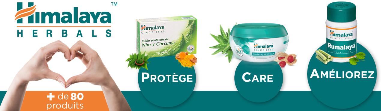 Prenez soin et protégez votre corps avec les produits naturels Himalaya Herbals d'OutletSalud