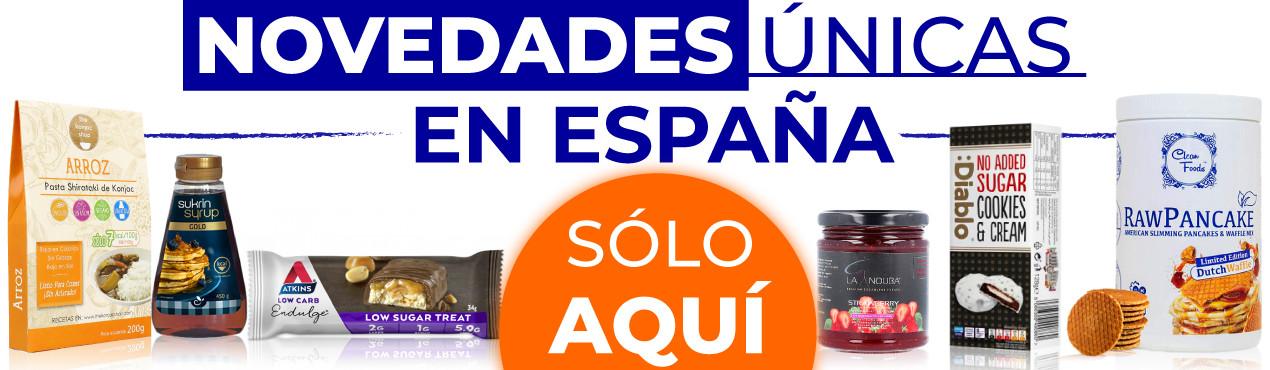 Descubre las novedades únicas en España de productos saludables haciendo clic aquí